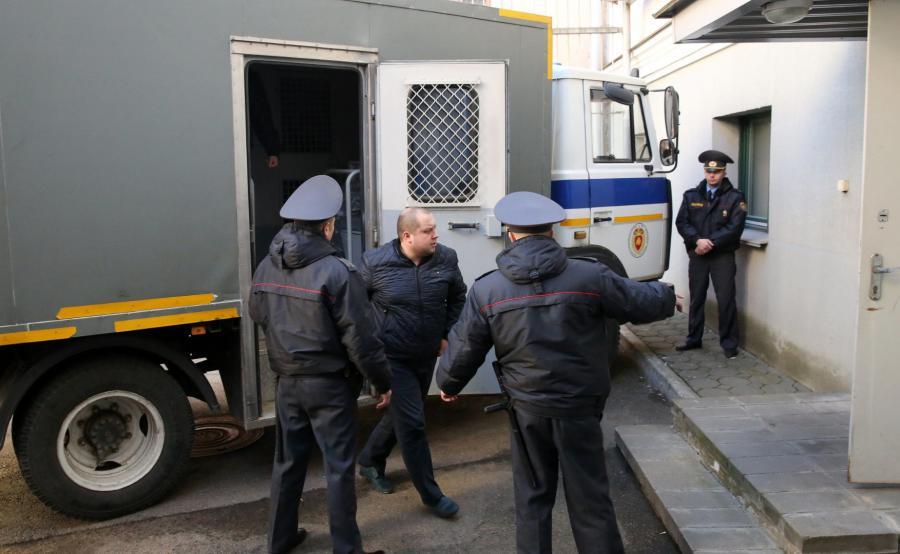 Aresztowani białoruscy opozycjoniści