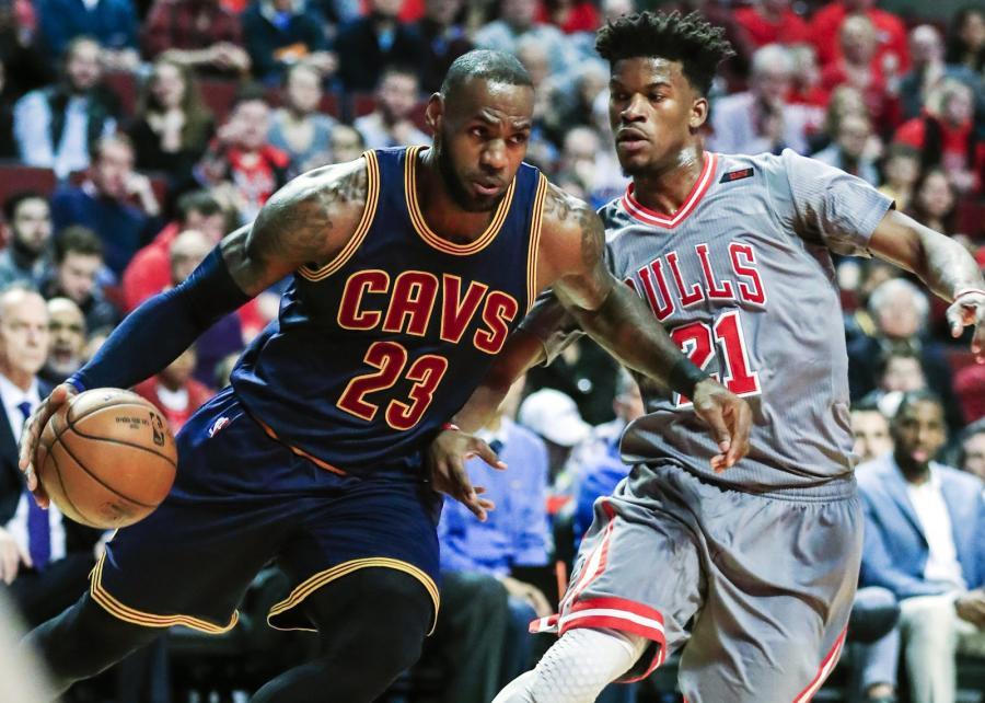 LeBron James i Jimmy Butler