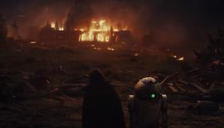 """Kadr z filmu """"Gwiezdne wojny: ostatni Jedi"""""""