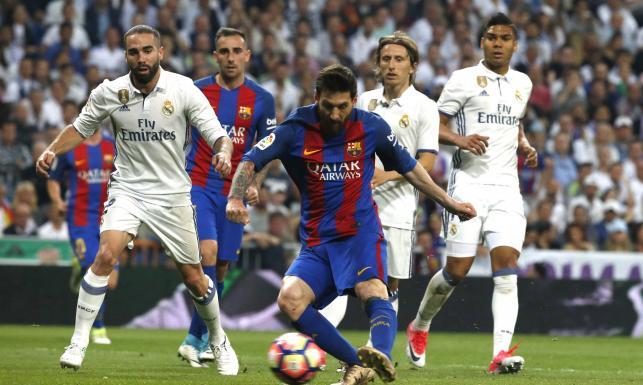 Liga hiszpańska: Genialne El Clasico. Koncert Messiego i cudowne gole. Barcelona lepsza od Realu