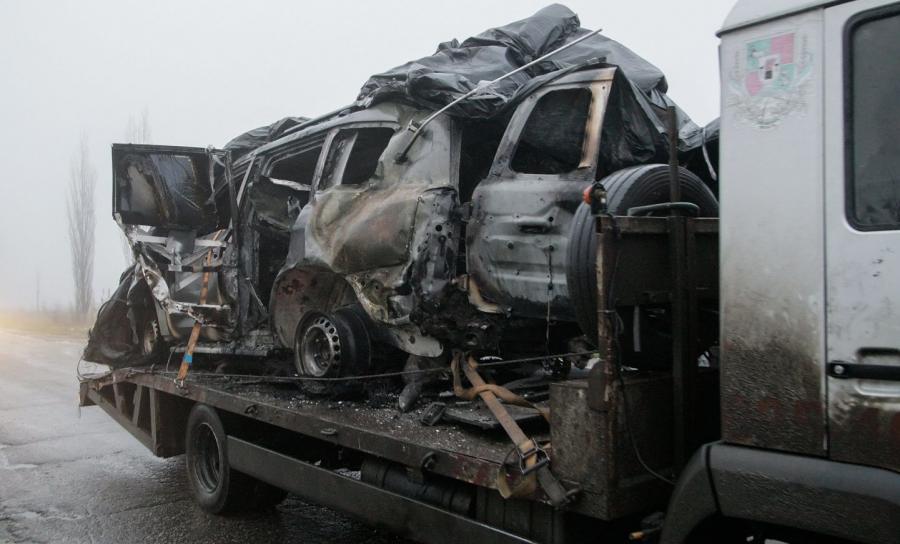 Zniszczony pojazd