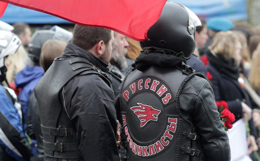 Motocykliści z Rosji