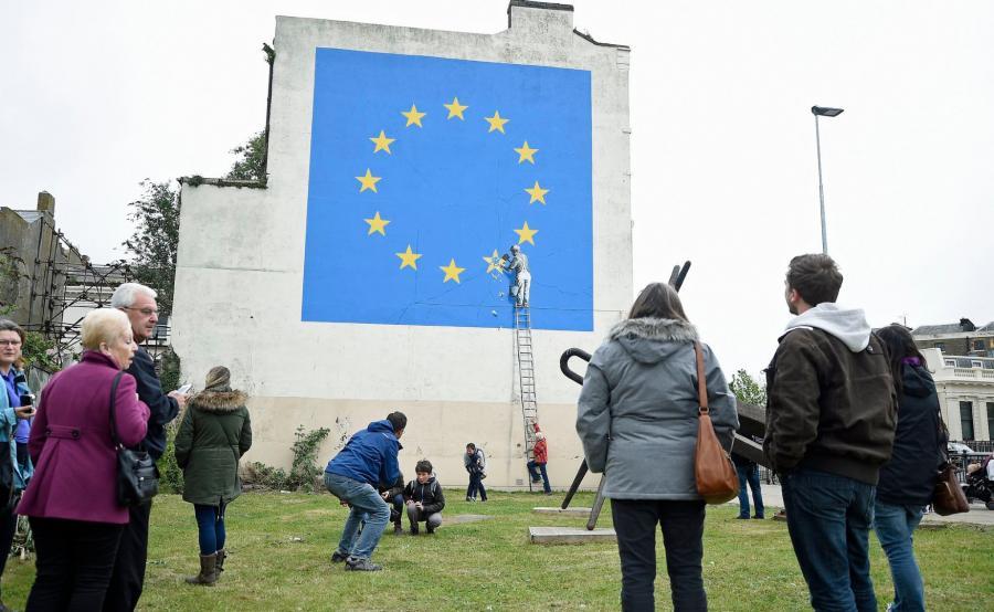 Nowy mural Banksy\'ego