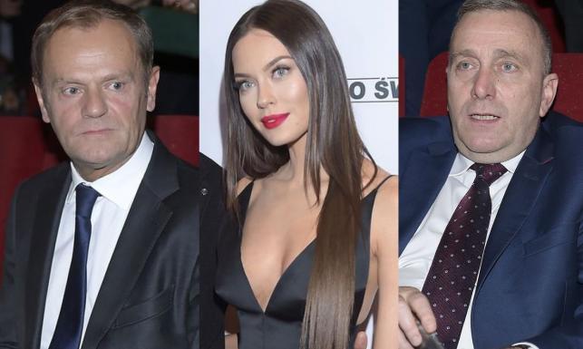 Tusk i Schetyna wśród artystów i celebrytów. Politycy zjawili się na premierze filmu \