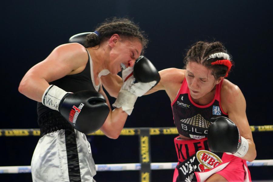 Ewa Brodnicka mistrzynią świata w boksie federacji WBO