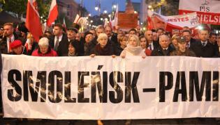 Marsz w rocznicę katastrofy smoleńskiej
