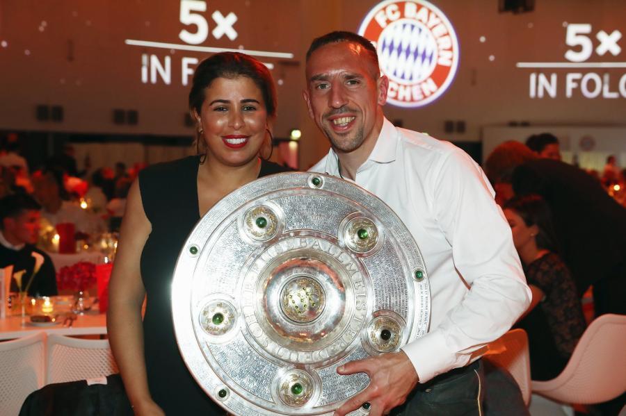 Franck Ribery i Wahiba Ribery