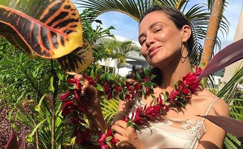 Kinga Rusin spędza wakacje na Samoa. \