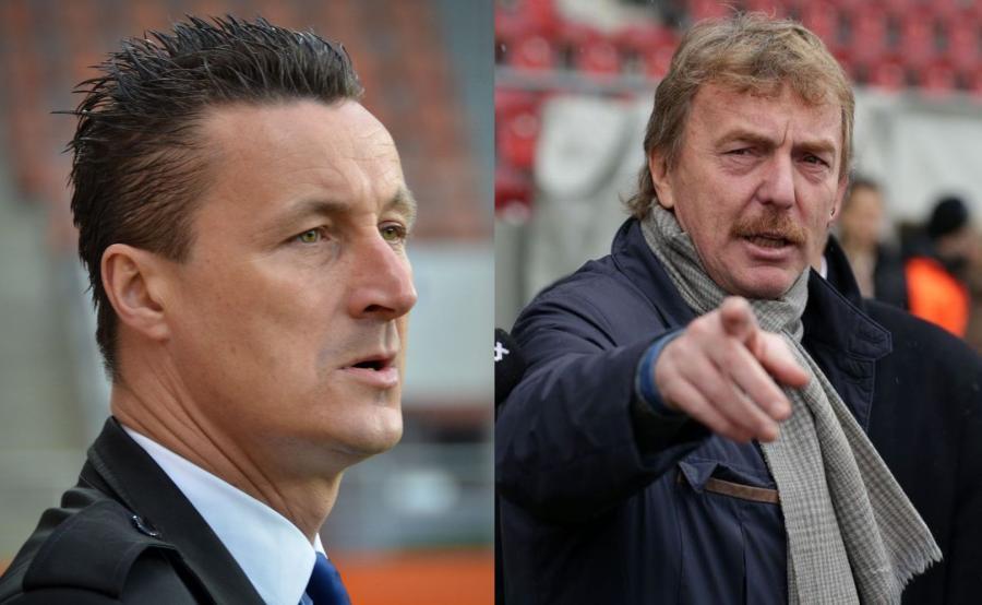 Tomasz Hajto i Zbigniew Boniek