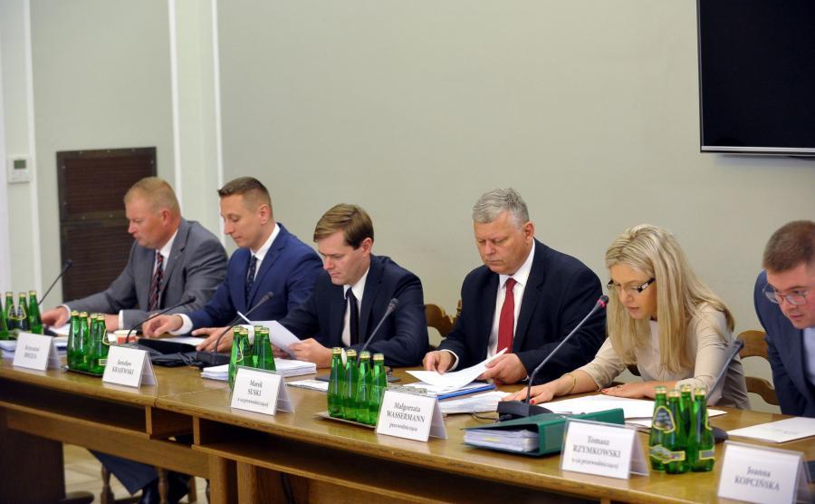 Obrady komisji śledczej
