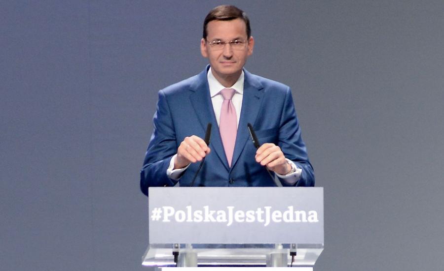 Wicepremier, minister rozwoju i finansów Mateusz Morawiecki