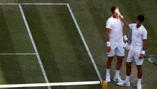 Novak Djokovic i Tomas Berdych