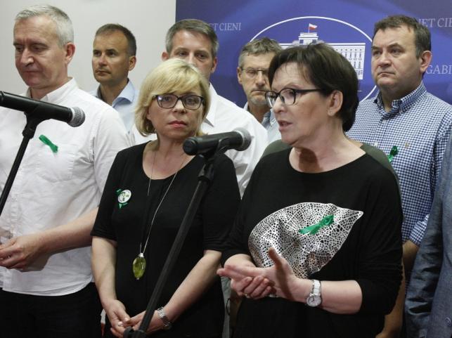 Gabriela Lenartowicz i Ewa Kopacz