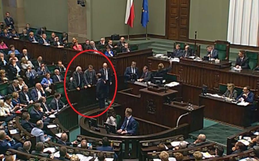 Michał Szczerba, Mariusz Błaszczak, Ryszard Terlecki / screenshot