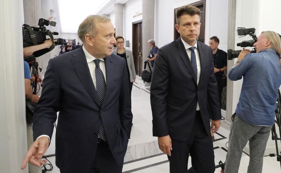 Grzegorz Schetyna i Ryszard Petru