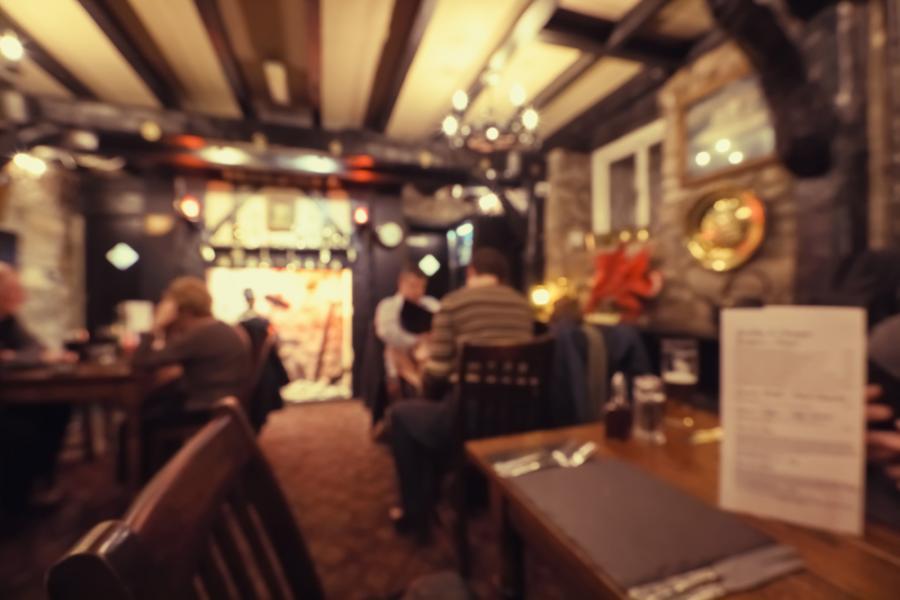Pub - restauracja w Londynie