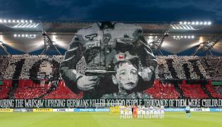 Legia Warszawa oprawa meczowa