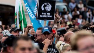 Wiec Angeli Merkel