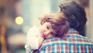 Ojciec z córką
