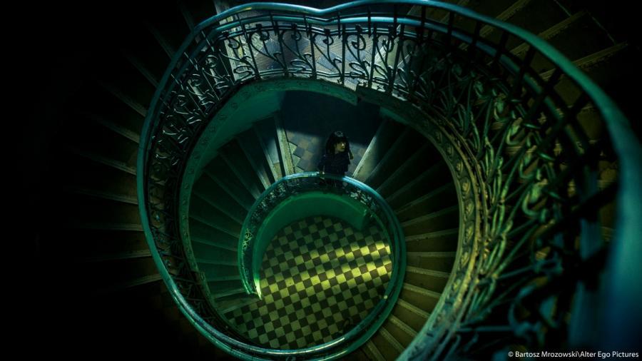 """Olga Bołądź w filmie """"Człowiek z magicznym pudełkiem""""; fot. Bartosz Mrozowski/Alter Ego Pictures"""