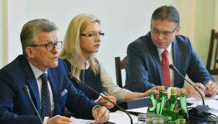 Stanisław Piotrowicz, Małgorzata Wassermann i Arkadiusz Mularczyk