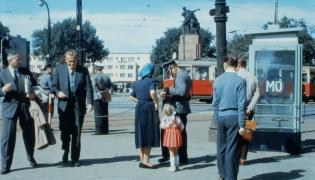 Warszawa na kolorowych zdjęciach z lat 60.