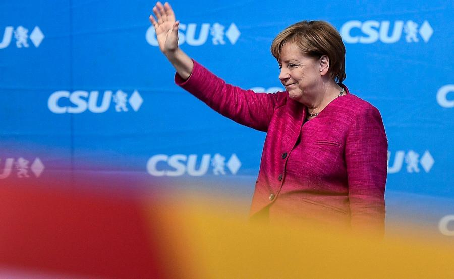 Triumf Angeli Merkel