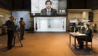 """Na festiwalu będzie pokazany spektakl holenderskiego reżysera Ivo van Hove """"Kings of War"""", fot. Jan Versweyveld"""