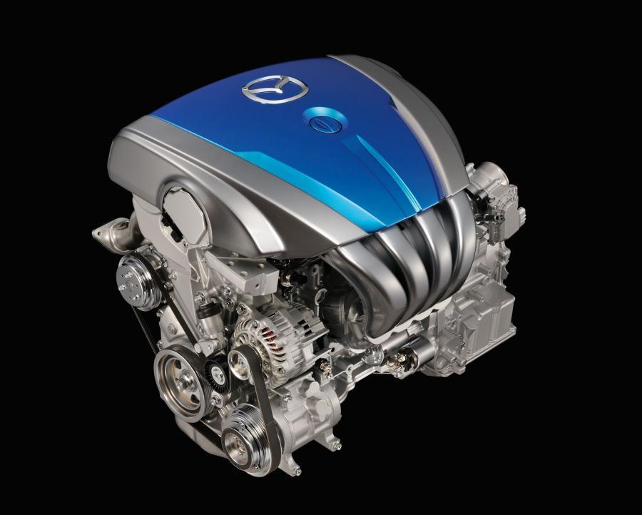 Duża Mazda spali tyle co najmniejsza Mazda