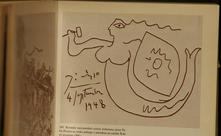 Reprodukcja szkicu Picassa