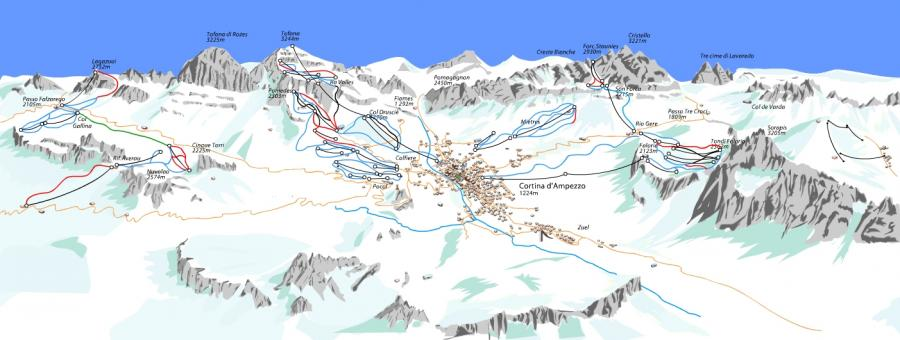 Cortina d\'Ampezzo, Włochy
