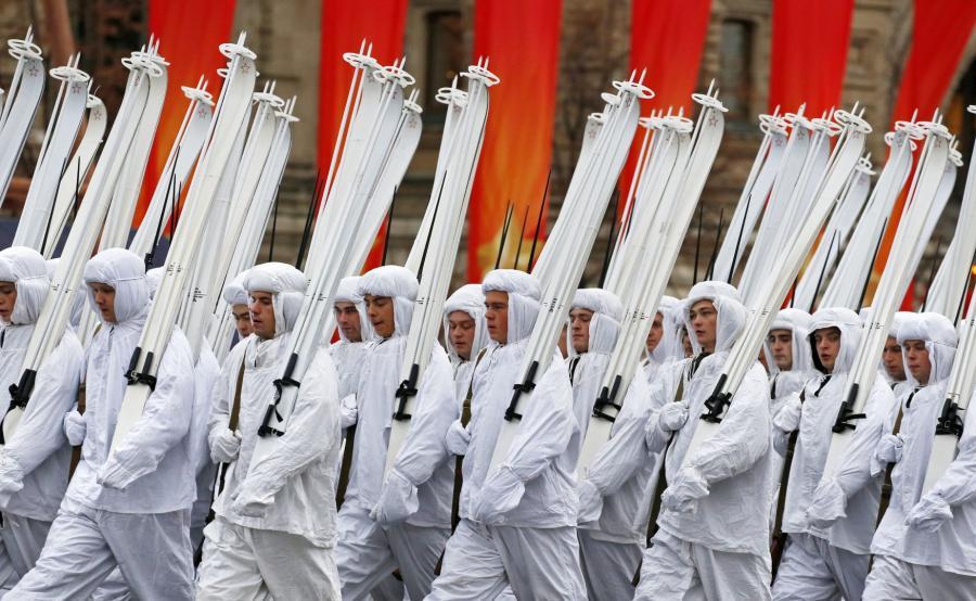 Parada w Moskwie