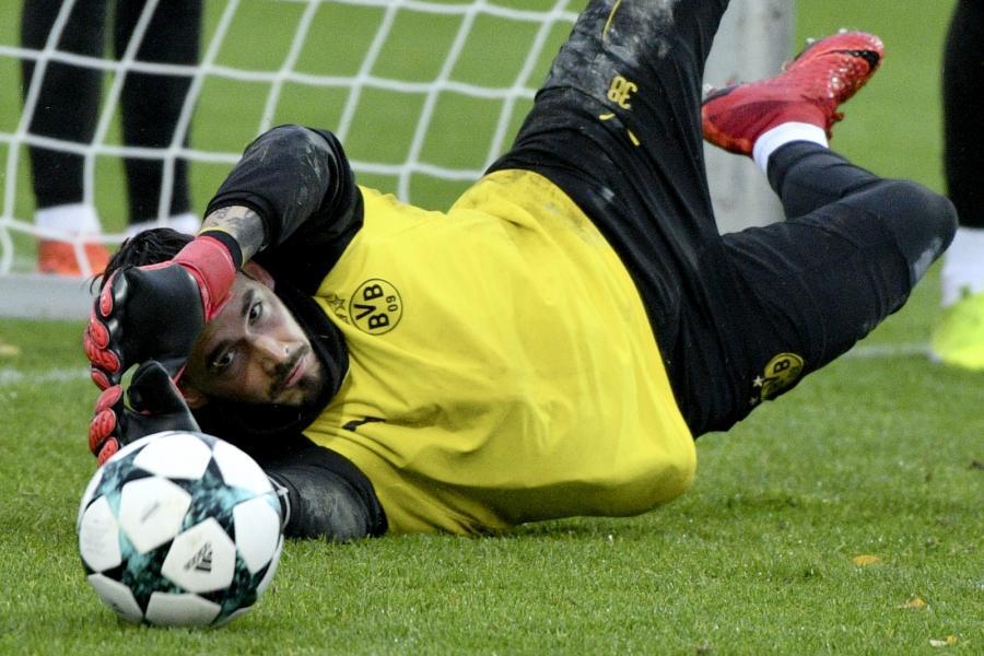 Bramkarz Borussii Dortmund, Roman Buerki