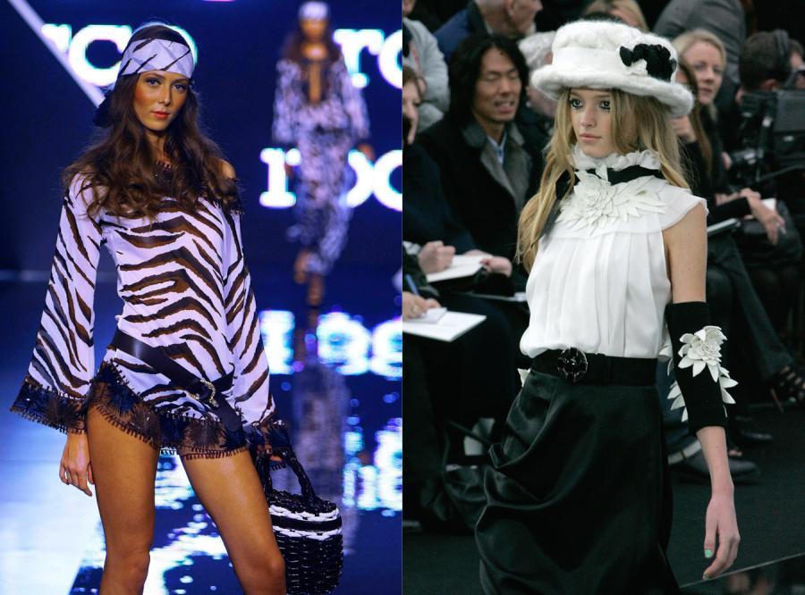 Duet idealny: zawsze black & white