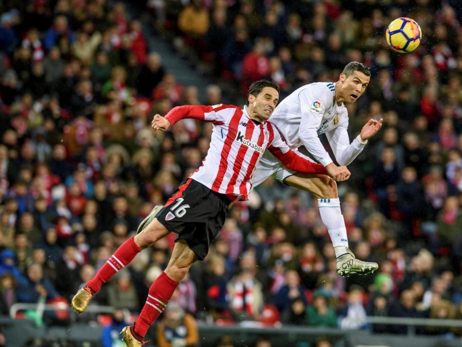 Cristiano Ronaldo i Xabier Etxeita