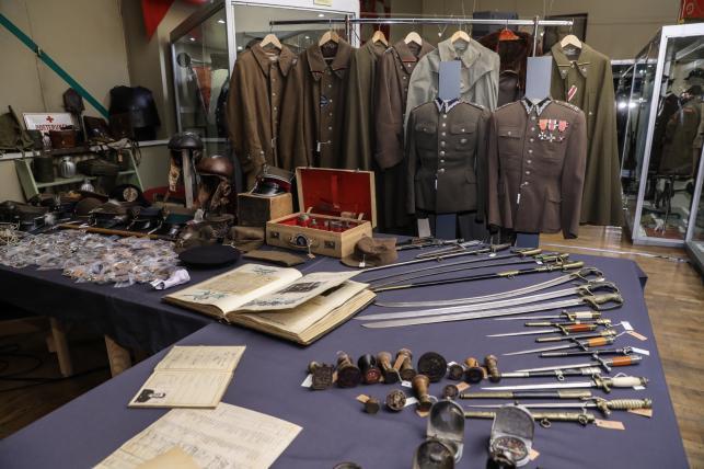 Prezentacja nowej kolekcji militariów polskich w Muzeum Wojska Polskiego