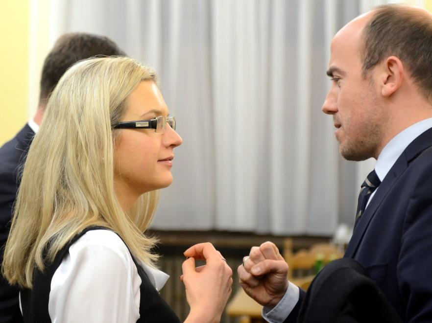 Małgorzata Wassermann i Borys Budka