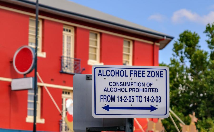 Strefa wolna od alkoholu