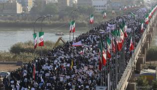 Prorządowy marsz w Teheranie