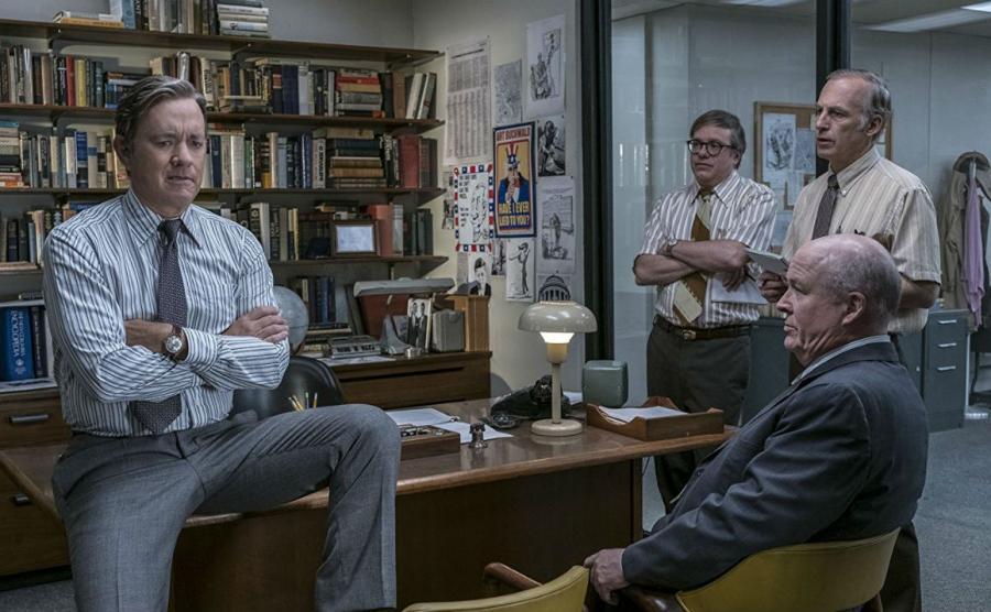 Tom Hanks jako Ben Bradlee