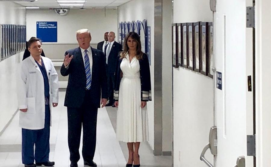 Donald Trump w szpitalu na Florydzie