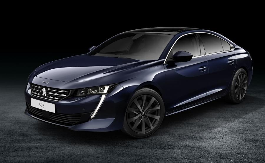 Peugeot 508 – ma zaledwie 1,40 m, a jego płynne i aerodynamiczne linie nadwozia przypominają coupe