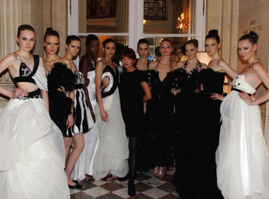 Ewa Minge i modelki