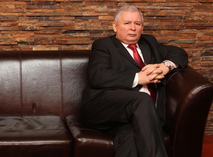 Kaczyński woli obejrzeć mecz sam