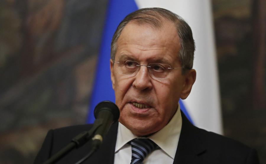 szef rosyjskiego MSZ, Siergiej Ławrow