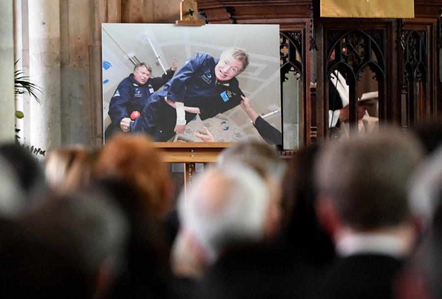 Pogrzeb Stephena Hawkinga