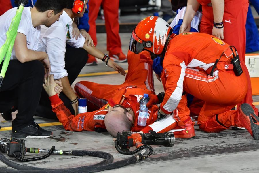 Kimi Raikkonen rozjechał mechanika