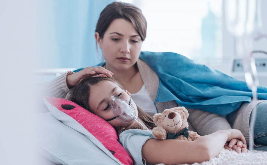Dziecko w szpitalu, pobyt rodzica