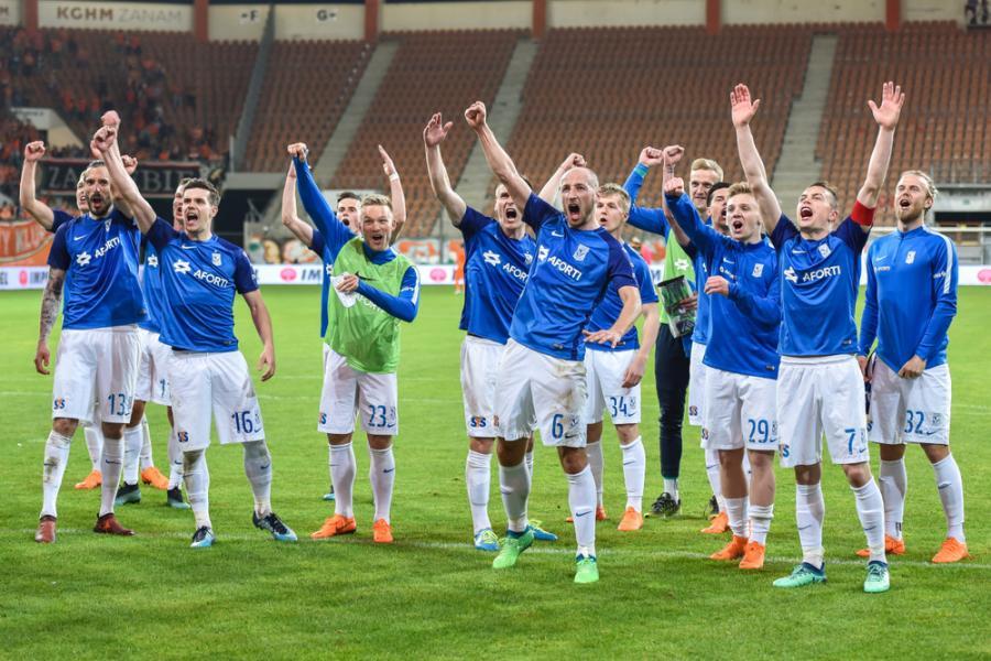 Piłkarze Lecha Poznań