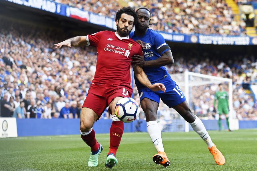 Victor Moses i Mohamed Salah